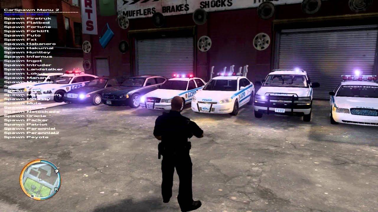 Gta Iv Gameplay My Lcpd Nypd Collection Can T Wait