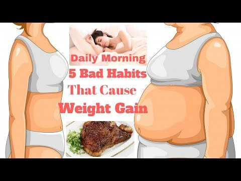 Daily Morning 5 Bad Habits that Cause Weight Gain
