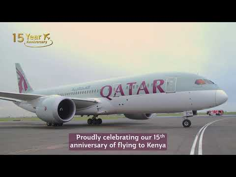 15 years of service to Nairobi, Kenya | Qatar Airways