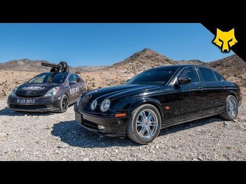 20mm Vulcan Prius vs Jaguar S Type