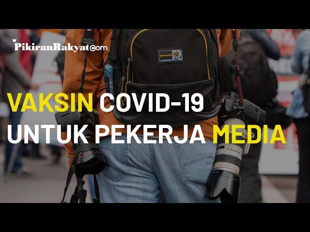 Suasana Proses Vaksinasi Covid-19 untuk Jurnalis dan Pekerja Media di Komplek GBK Dimulai Hari Ini