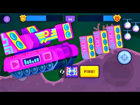 Tank Stars Update - Halloween DUBSTEP Tank | All Boosters | (iOS, Android)