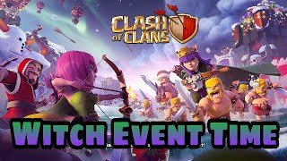 #ClashofClans. Witch slap event Gameplay.