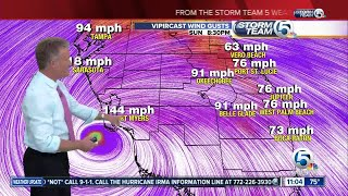 11 p.m. update: Category 3 Hurricane Irma bringing life-threatening storm to Keys thumbnail