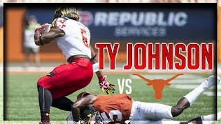Ty Johnson Highlights vs Texas // 12 Carries for 132 Yards, 1 TD // 9.02.17