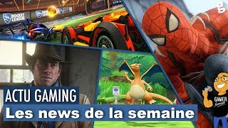 Red Dead Redemption 2 / Spider-man PS4 MAJ / Openworld DC comics / etc ...