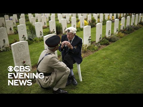 Fallen heroes remembered on 75th anniversary of D-Day