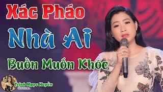 Em Gái Hát Tân Cổ Xác Pháo Nhà Ai Nghe Mà Muốn Khóc | Trịnh Ngọc Huyền ✔