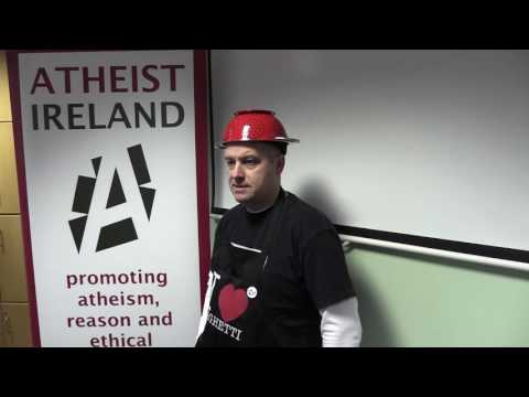 Protecting Pastafarian Rights - John Hamill and Michael Nugent at Maynooth University