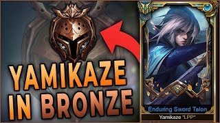 I Take My Talon To Bronze! | Challenger Talon Carry in Bronze Elo