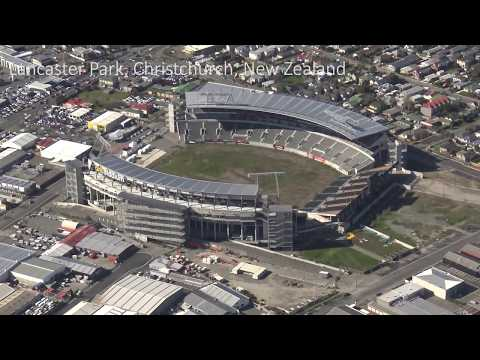 Lancaster Park, Christchurch, New Zealand: A last look at the famous sports ground