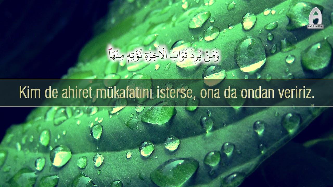 Abdullah Altun - Ali İmran Suresi 144 148