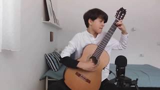 Les Folies d'Espagne Variées et un menuet, Op. 15(a) by Fernando Sor played by Nichita Gînscă Nistea