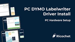 PC Dymo Driver Install
