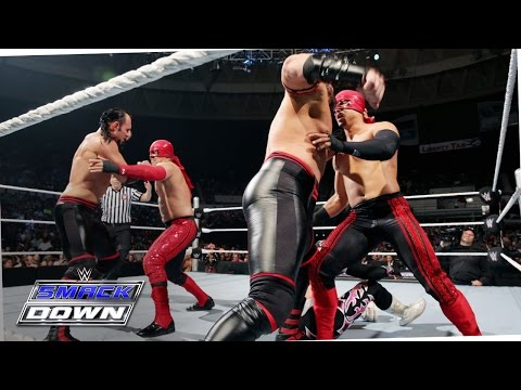 Four Corners Tag Team Match – Smackdown, May 21, 2015