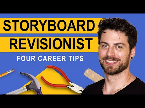 Storyboard Revisionist – 4 Tips To Start Your Career