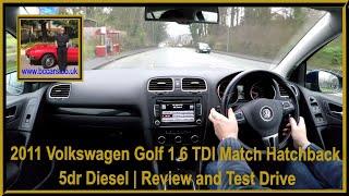 Virtual Video Test Drive in our Volkswagen Golf 1 6 TDI Match Hatchback 5dr Diesel