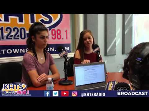 Elly Keshishi & Dallas Potter From Castaic Middle School - July 31, 2018 - KHTS
