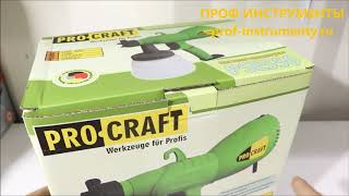 Buzadigan amallar PSE 550 UNPACKING PROCRAFT