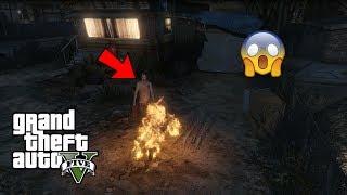 OMG I Saw Trevor's Ghost in GTA 5!