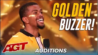Brandon Leake: First Poet Ever To Get America's Got Talent GOLDEN BUZZER!