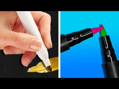 23 UNUSUAL TRICKS FOR DRAWING