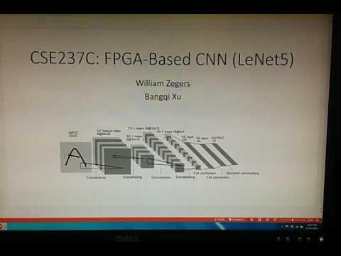 UCSD CSE237C: FPGA-Based Convolutional Neural Network
