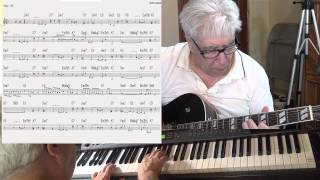 I Will Wait For You - guitar & piano Jazz cover ( Michel Legrand ) Yvan Jacques