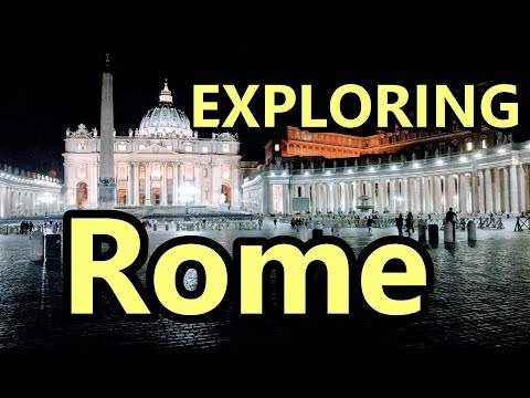 Exploring Rome Italy | GoPro Hero 6 Black and Canon PowerShot G7 X Mark II