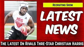 Christian Harris plans to take two more visits to Tuscaloosa