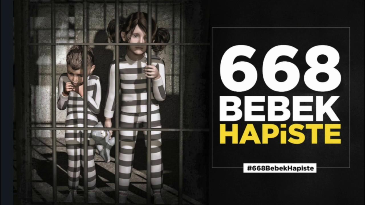 Yüzlerce bebek bu bayramda da hapishanalerde