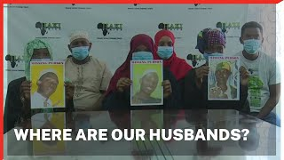 Dejected Likoni women demand the whereabouts of their husbands abducted by armed men at night