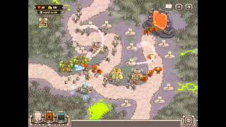 Kingdom Rush HARD DIFFICULTY- Rotten Forest Campaign on iPad