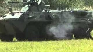 Bangladesh Army BTR 80 APC