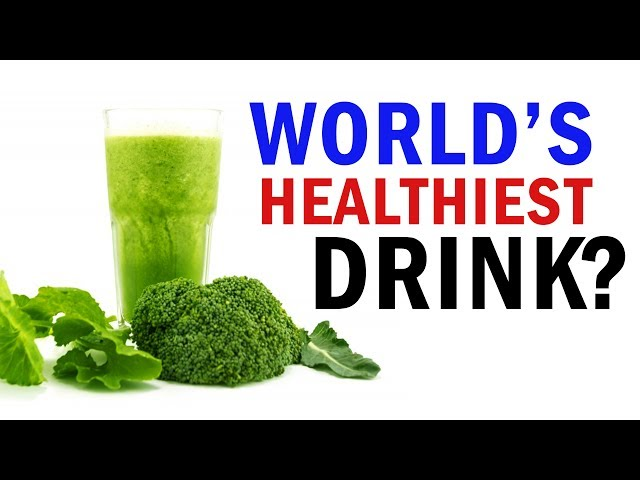The Healthiest Drink In The World   The LAB ft. Grace Helbig