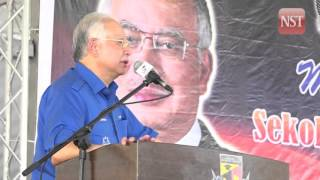 IBS system would be used to rebuild 183 schools in Sarawak: PM Najib