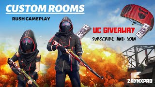 🔴PUBG MOBILE LIVE STREAM | CUSTOM ROOMS | LIKE SHARE SUBSCRIBE AND JOIN #PAKISTAN #INDIA