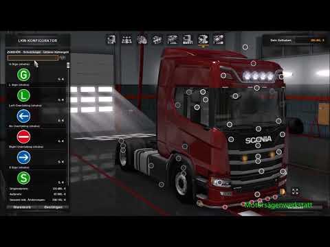 ETS2//  Scania S/ Next Generation;  Tuning