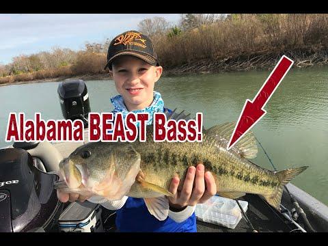 Alabama BEAST Largemouth! My Son's PERSONAL BEST!