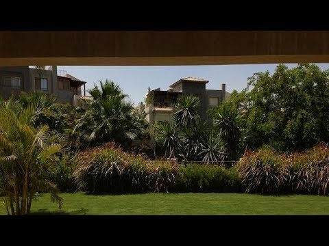 rent ground floor greenery area in Cairo compound palm hills