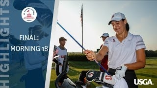 Highlights: 2019 U.S. Women's Amateur Final- Early Highlights
