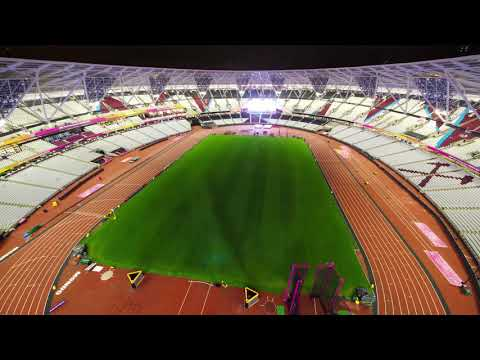 World Athletic Games 2017 timelapse