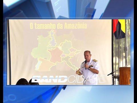 Novo comandante da Marinha na região fala de desafios da Amazônia