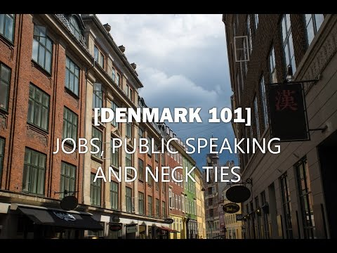 Denmark 101 - Neck Ties and Job Interviews - Ep. 38