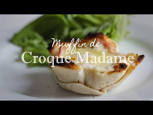 Muffin de CROQUE MADAME
