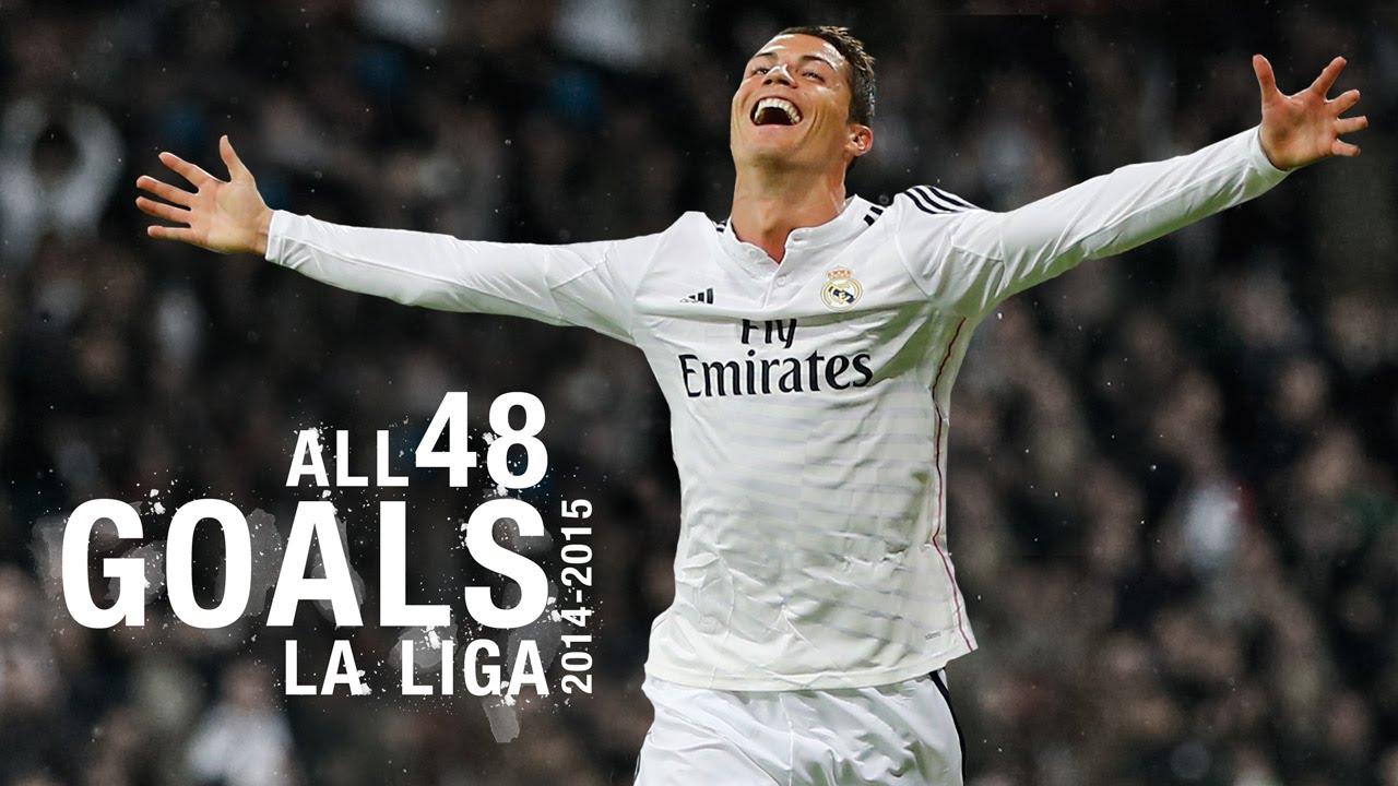 Goals Watch All 48 Of Cristiano Ronaldo S 2014 15 La