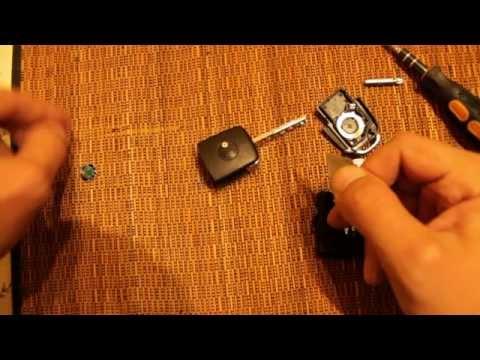 Как разобрать ключ брелок Skoda, V.W.