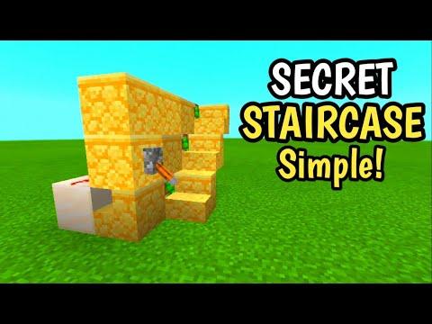 cara-membuat-tangga-rahasia-di-mcpe--||minecraft-indonesia