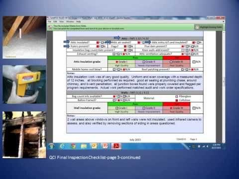 QCI Inspection Checklist