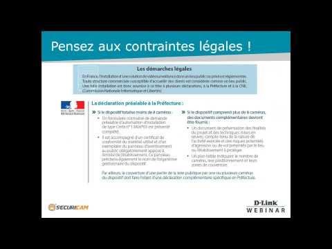 Les solutions de Vidéo-Protection DLINK pour les commerces